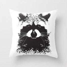 Trash Panda Throw Pillow