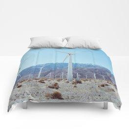 Palm Springs Windmills IV Comforters