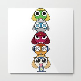 Leap Frogs in Space!! Metal Print