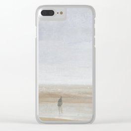Sea and Rain, 1865 by James McNeill Whistler Clear iPhone Case