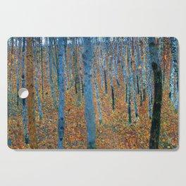 Gustav Klimt - Beech Grove - Buchenhain - Vienna Secession Painting Cutting Board