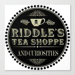 Riddle's Tea Shoppe Victorian Design Canvas Print