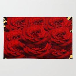 Leopard Rose  Rug