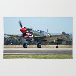VH-ZOC Curtiss P-40N Warhawk Rug
