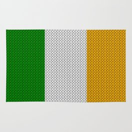Flag of Ireland - knitted Rug