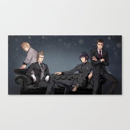 Suits and Ties Canvas Print