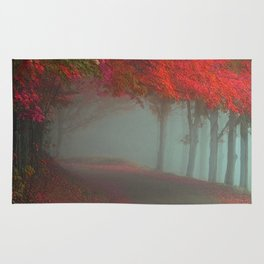 Crimson Path Rug