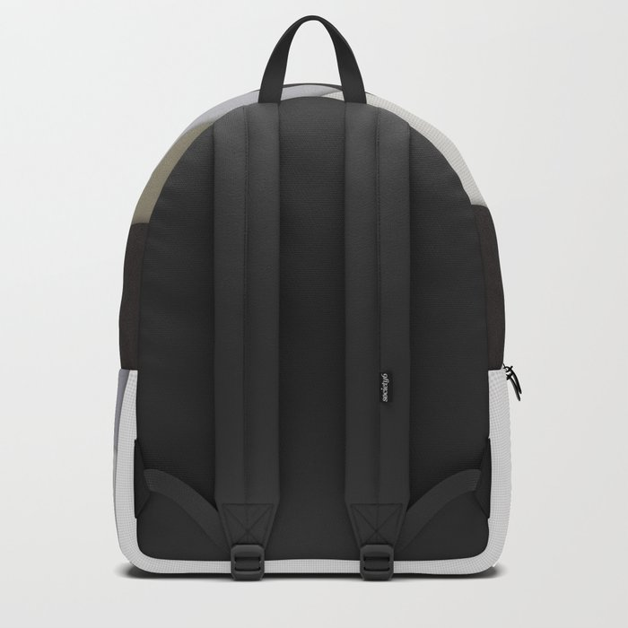 Rotating Geometric Layers Backpack