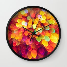 Light and Shimmer Wall Clock