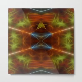 Tarot card V - The Hierophant Metal Print