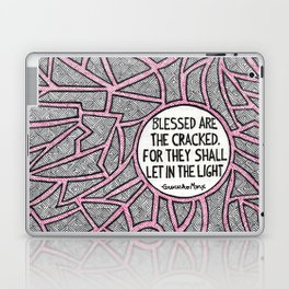 Blessed are the Cracked Laptop & iPad Skin