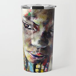 Reverie - Ethnic African portrait Travel Mug