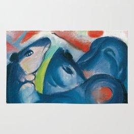 "Franz Marc ""The Blue Foals"" Rug"