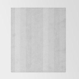 Gray Stripe Pattern Throw Blanket
