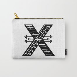 LETTER 'X' IMELA PRINT Carry-All Pouch