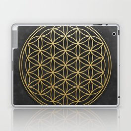 The Flower of Life Laptop & iPad Skin