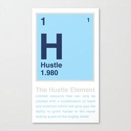The Hustle Element Canvas Print