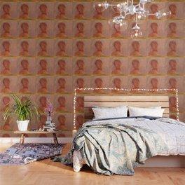 "Odilon Redon ""Closed Eyes"" Wallpaper"