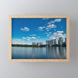 City Views Framed Mini Art Print