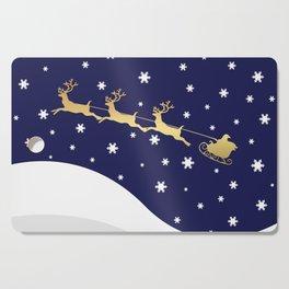Christmas Santa Claus Cutting Board