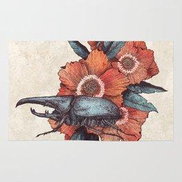 Hercules Beetle Rug