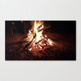 Im burning  Canvas Print