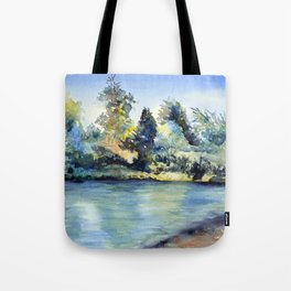 A Little Spot on the Truckee Tote Bag
