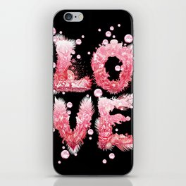 Bubble Love iPhone Skin