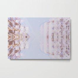 Pink Flats Metal Print