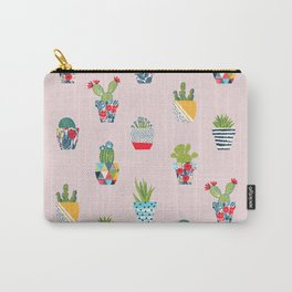 Funny cacti illustration Carry-All Pouch