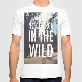 No Church in the Wild Photo Print T-shirt