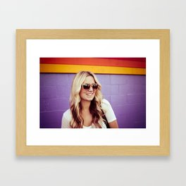 The Girl Next Door Framed Art Print