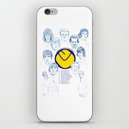 LEEDS UNITED 1972 iPhone Skin