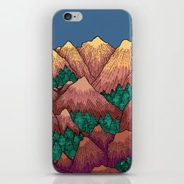 Natural Mountains iPhone Skin