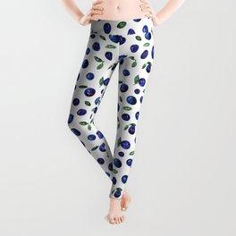 Blueberries Leggings