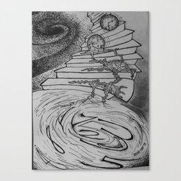 Molten Hour Canvas Print