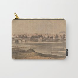 Vintage Pictorial View of Richmond VA (1853) Carry-All Pouch