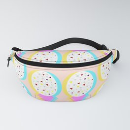Pastel pineapples Fanny Pack
