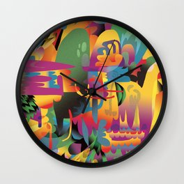 Rua Edna Wall Clock