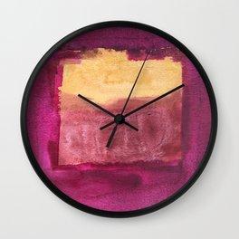 Color abstract 3 Wall Clock