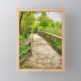 Pathway Framed Mini Art Print