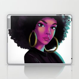 purple wave Laptop & iPad Skin