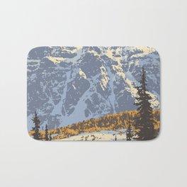 Banff National Park Badematte