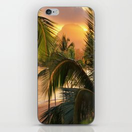 Kauai Tropical Island by OLena Art iPhone Skin