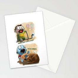 Babies like to bite stuff Stationery Cards