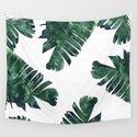 Banana Leaf Watercolor #society6 #buy #decor by 83oranges