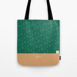 Aubrey - Hunter Green and Tan Tote Bag