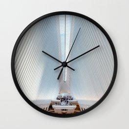 Oculus in New York Wall Clock