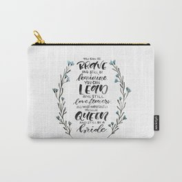 Queen & Bride Carry-All Pouch