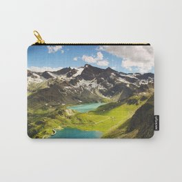 Alps aerial view Carry-All Pouch